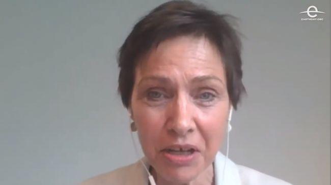 Education International's Deputy General Secretary, haldis Holst.