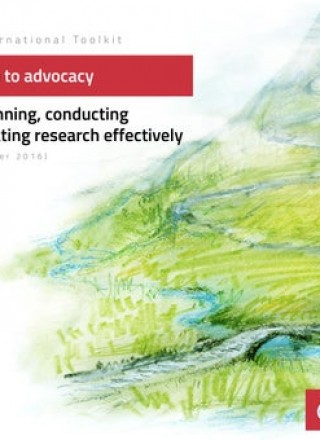 EI Toolkit: from research to advocacy